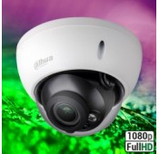 Dahua HDBW2221RP-ZS 1080p D/N IR WDR 3 Axis Vandaal Dome 2.7-12mm Motorzoomlens