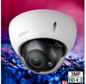 Dahua HDBW2320RP-ZS 3MP DN IR 3 Axis Vandaal Dome 2.7-12mm Motorzoomlens