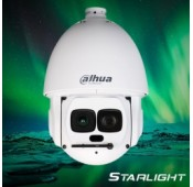 Dahua SD6AL230F-HNI 1080p D/N Laser IR Starlight Speed Dome Auto Tracking 30x optische zoom, incl. muurmontage en voeding